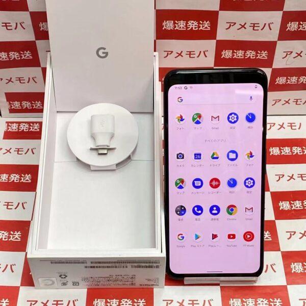 Google Pixel 4 XL 国内版SIMフリー 64GB G020Q-正面