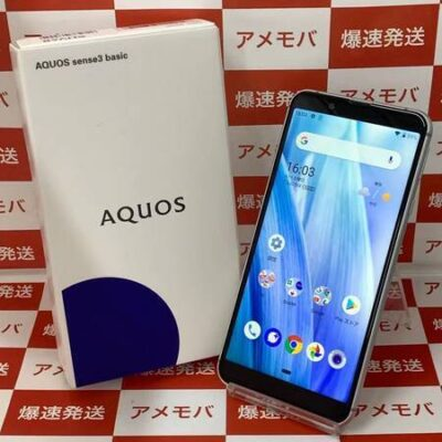 AQUOS sense3 basic SHV48 UQmobile 32GB SIMロック解除済み