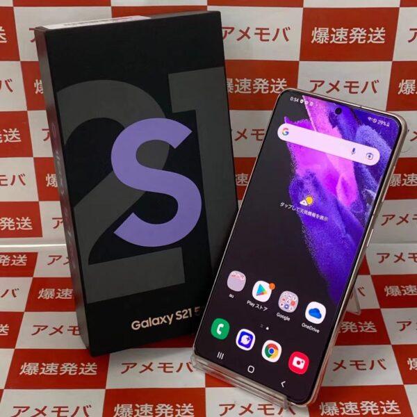 Galaxy S21 5G SCG09 au 256GB SIMロック解除済み-正面