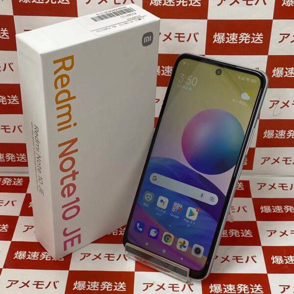 Redmi Note 10 JE XIG02 au 64GB SIMロック解除済み正面