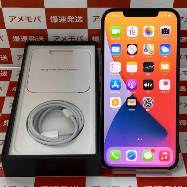 iPhone12 Pro Max au版SIMフリー 256GB MGD23J/A A2410 美品-正面