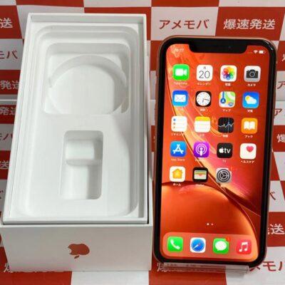 iPhoneXR SoftBank版SIMフリー 64GB NT0A2J/A A2106