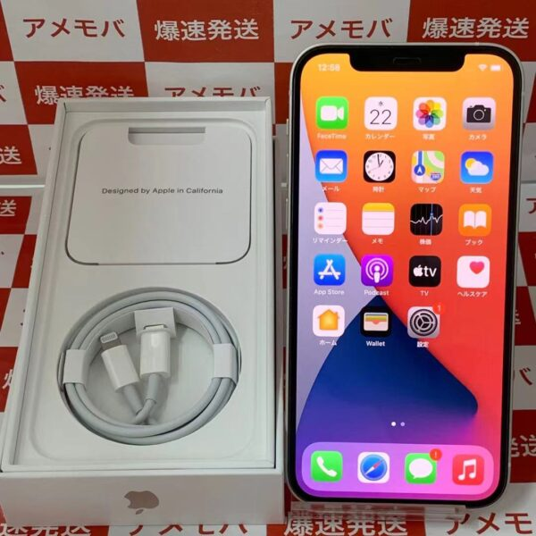 iPhone12 Y!mobile 256GB MGJ13J/A A2402-正面