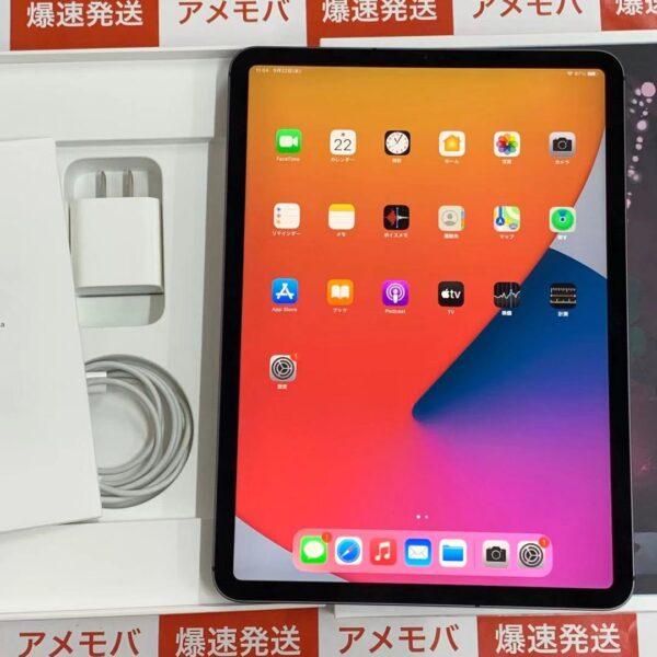 iPad Pro 11インチ 第1世代 au版SIMフリー 64GB MU0M2J/A A1934-正面