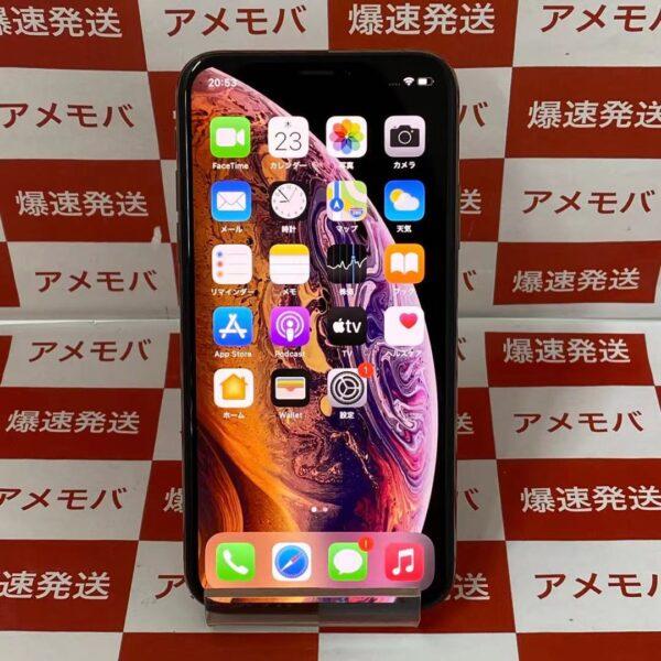 iPhoneXS au版SIMフリー 256GB MTE22J/A A2098-正面