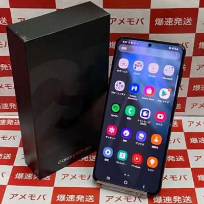 Galaxy S21+ 5G SCG10 au 256GB SIMロック解除済み 極美品