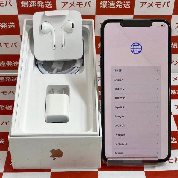 iPhoneXS Max au版SIMフリー 256GB NT6U2J/A A2102 交換品未使用品-正面