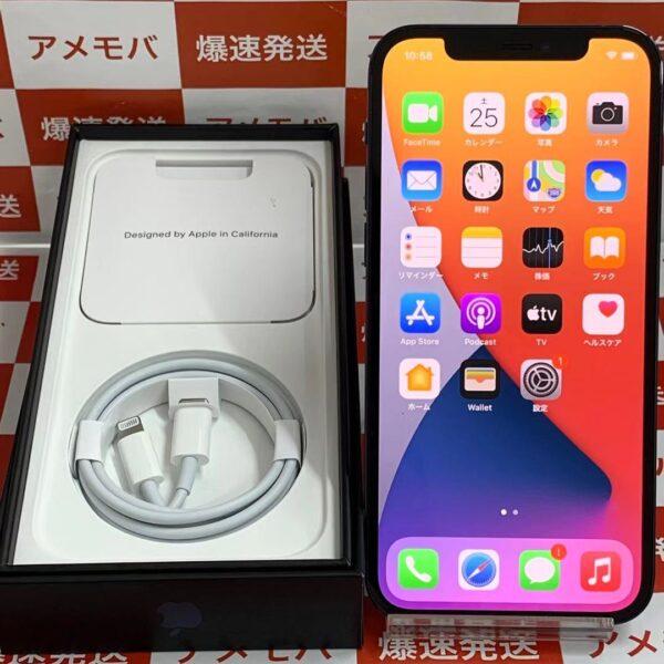 iPhone12 Pro Apple版SIMフリー 256GB MGMD3J/A A2406-正面