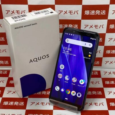 AQUOS sense3 basic SHV48 au 32GB SIMロック解除済み 新品同様品