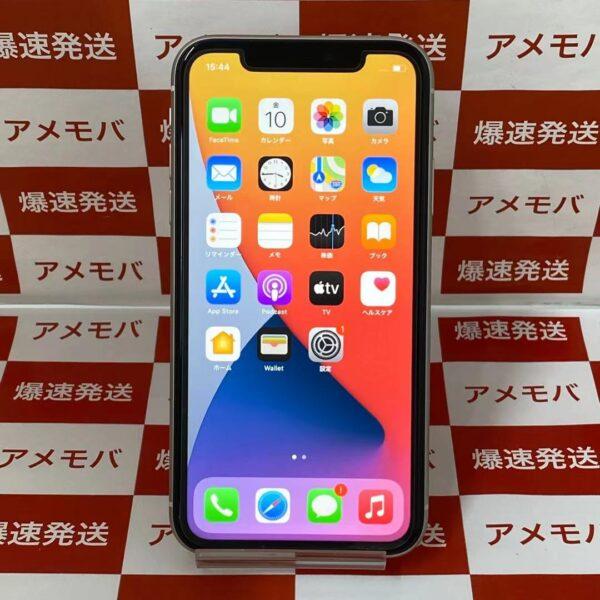 iPhone11 au版SIMフリー 64GB MHDC3J/A A2221-正面