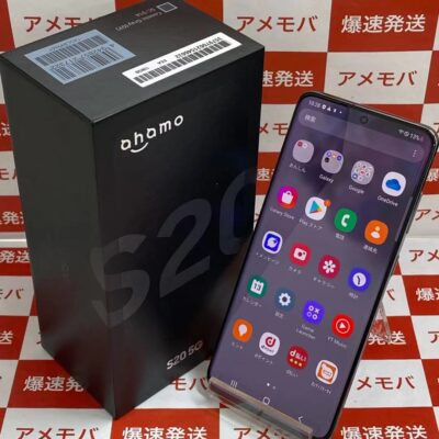 Galaxy S20 5G SC-51A docomo 128GB SIMロック解除済み