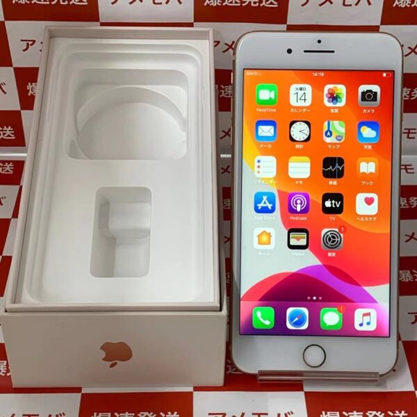 iPhone8 Plus SoftBank版SIMフリー 128GB MQ9M2J/A A1898-正面