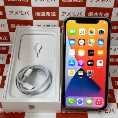 iPhone11 au版SIMフリー 64GB MHDC3J/A A2221 新品同様品