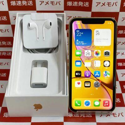 iPhoneXR au版SIMフリー 256GB MT0Y2J/A A2106 極美品