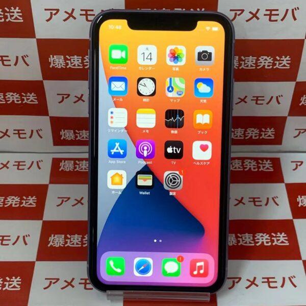 iPhone11 海外版SIMフリー 128GB MWND2ZA/A A2223 物理デュアルSIM-正面