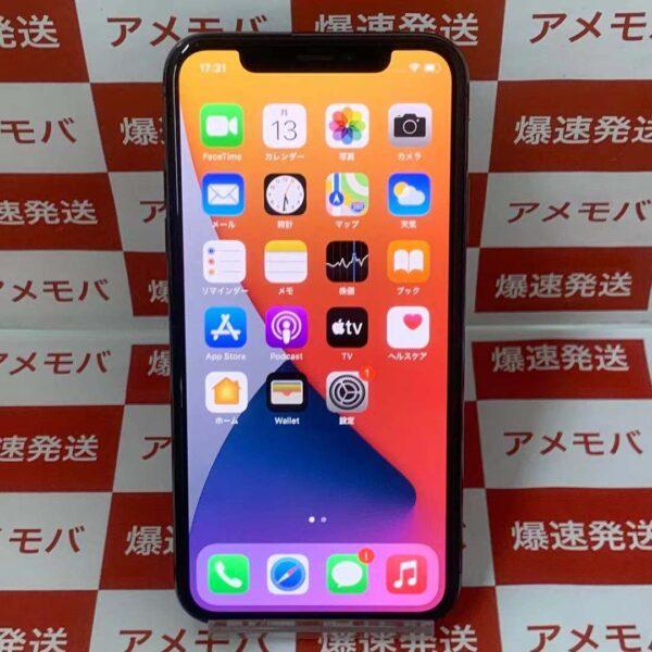 iPhoneX docomo版SIMフリー 256GB MQC12J/A A1902-正面
