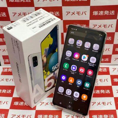 Galaxy A51 5G SCG07 au 128GB SIMロック解除済み