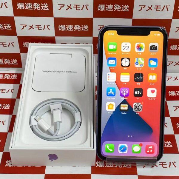 iPhone11 Apple版SIMフリー 128GB MHDM3J/A A2221 開封未使用品-正面