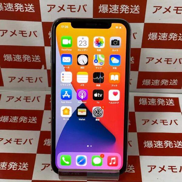 iPhoneX SoftBank版SIMフリー 256GB MQC22J/A A1902-正面