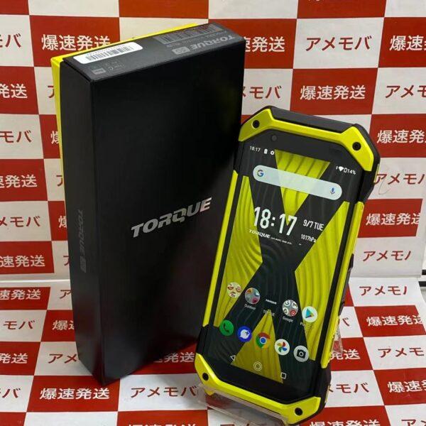 TORQUE 5G KYG01 au 128GB SIMロック解除済み-正面