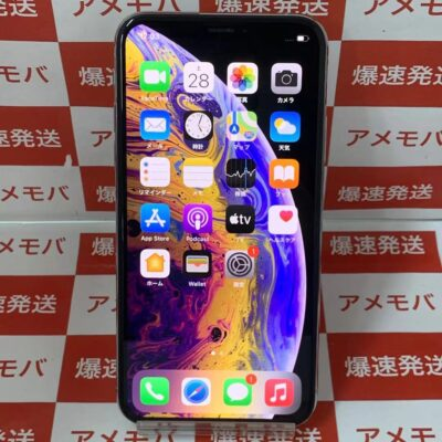 iPhoneXS docomo版SIMフリー 256GB MTE12J/A A2098 美品