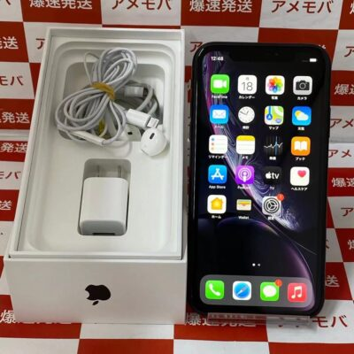 iPhoneXR au版SIMフリー 64GB MT002J/A A2106 極美品 フルセット