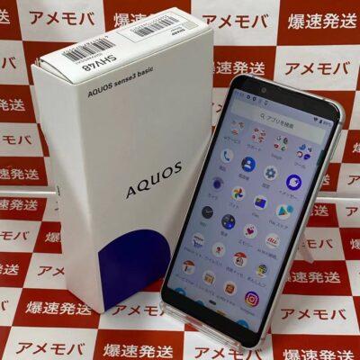 AQUOS sense3 basic SHV48 au 32GB SIMロック解除済み