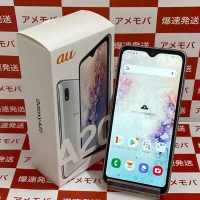 Galaxy A20 SCV46 au 32GB SIMロック解除済み